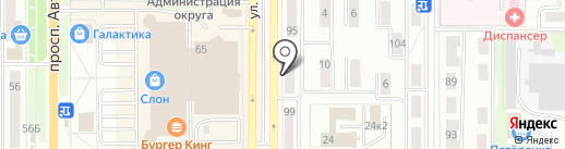 Внедренческий центр Ярошенко на карте Миасса