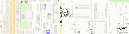 Газовик на карте Миасса