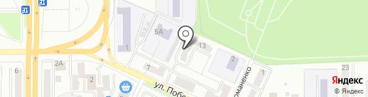 Сакура на карте Миасса