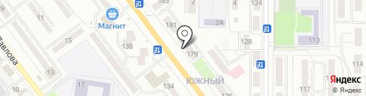 Вираж-Авто на карте Миасса