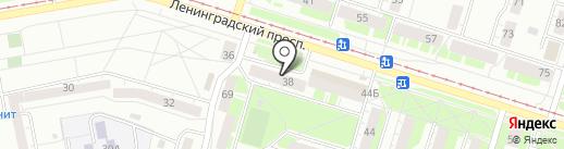 Салон бытовых услуг на карте Нижнего Тагила