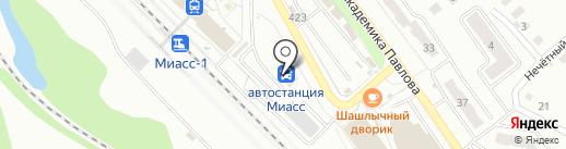 Автовокзал г. Миасса на карте Миасса