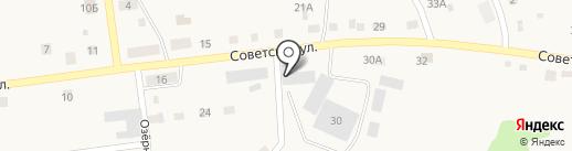 Исетский на карте Дегтярска