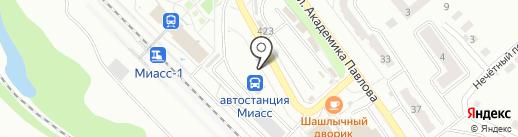 Магазин аксессуаров для телефонов на карте Миасса