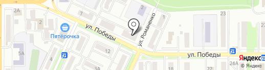 Банкомат, Банк ВТБ 24 на карте Миасса
