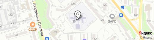 Детский сад №1 на карте Миасса