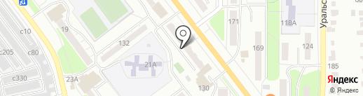 Карамелька на карте Миасса