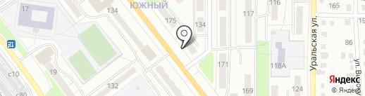 Метаком-Д на карте Миасса