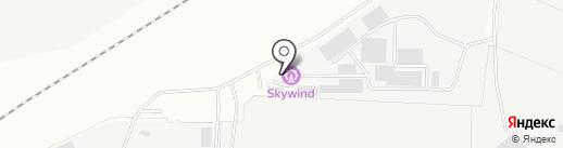 Шпатен на карте Миасса