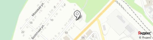 Служба эвакуации автомобилей на карте Миасса