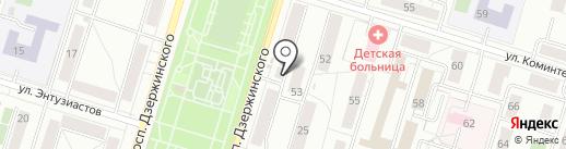 Академия Гимнастики на карте Нижнего Тагила