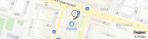 Банкомат, ВТБ Банк Москвы, ПАО Банк ВТБ на карте Нижнего Тагила