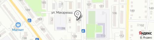Тополь-СК на карте Миасса