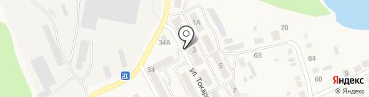 Магазин женской и детской одежды на карте Дегтярска