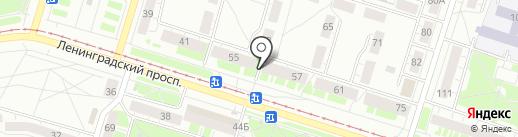 Бирфиш на карте Нижнего Тагила