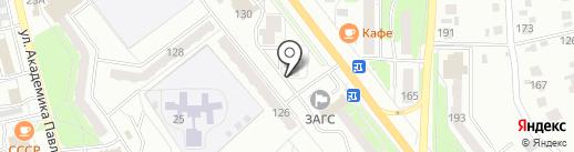 Guten Tag на карте Миасса