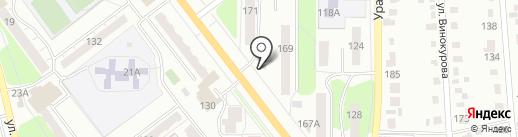 Живое пиво из кег на карте Миасса