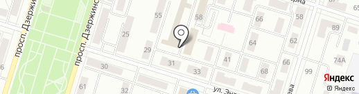 Горэнерго, МУП на карте Нижнего Тагила