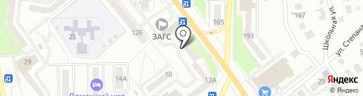Почтовое отделение №17 на карте Миасса