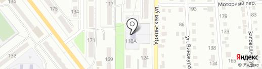 Детский сад №62 на карте Миасса