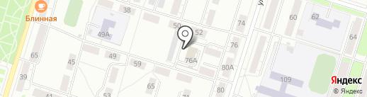 Нижнетагильский отдел вневедомственной охраны на карте Нижнего Тагила