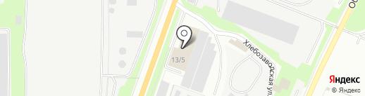 АСТ Слон на карте Миасса