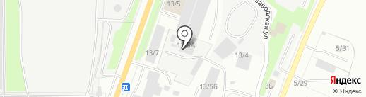 Афина на карте Миасса
