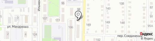 Сфера на карте Миасса