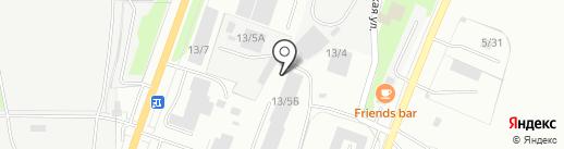 ПромМеталл-Миасс на карте Миасса
