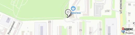 MobileNet на карте Миасса