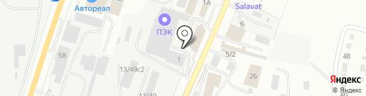 СК БАЗИС на карте Миасса