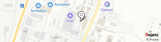 Ferum на карте Миасса