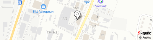 Торгово-транспортная компания на карте Миасса