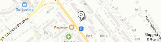 Магазин хозтоваров на карте Миасса
