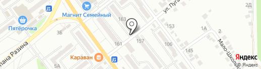Цирюльня Пена на карте Миасса
