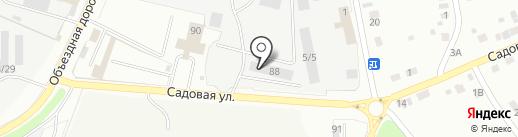 Коваль на карте Миасса