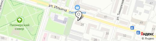 Вента на карте Нижнего Тагила