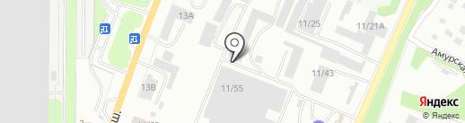 Урал-МАИР на карте Миасса