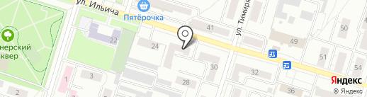 Салон-магазин мебельной фурнитуры и матрасов на карте Нижнего Тагила