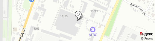 УСПТК-РМЗ на карте Миасса