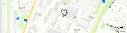 Винцер на карте Миасса