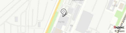БизнесПартнер на карте Миасса