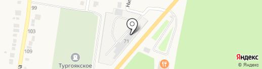 УралТехКом на карте Миасса