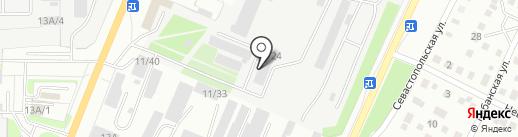 Завод ЖБИ на карте Миасса