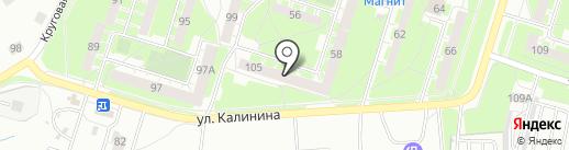 ЖЭУ №4 на карте Нижнего Тагила