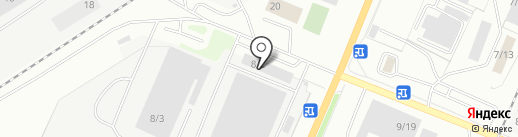 ИВЕКО-АМТ на карте Миасса