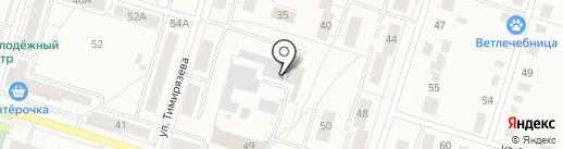 Шиномонтажная мастерская грузовых автомобилей на карте Нижнего Тагила