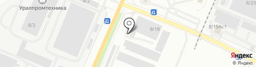Стан на карте Миасса