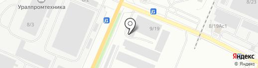 Миасс-Уралстальконструкция на карте Миасса