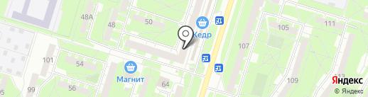 Визит на карте Нижнего Тагила